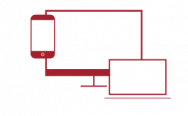 Mobile, Desktop, and Laptop Devices Icon