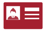 Rectangle Identification Card Icon